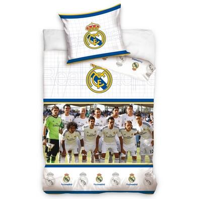 Bavlněné povlečení Real Madrid hráči, 140 x 200 cm, 70 x 80 cm