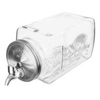 Carafă cu capac și robinet Orion Lager, 3,4 l