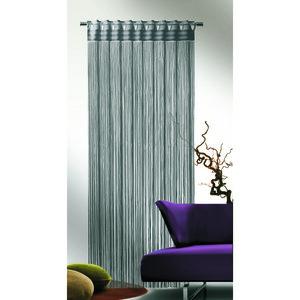 Albani Provázková záclona Cord šedá, 90 x 245 cm