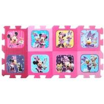 Trefl Penové puzzle Minnie a Daisy 8 dielikov, 117 x 60 cm