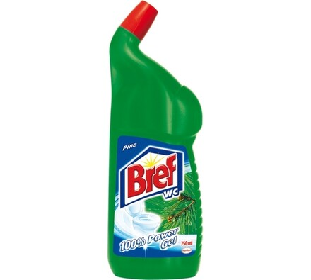 Breff WC gel 100% Power pine Jumbo 750 ml