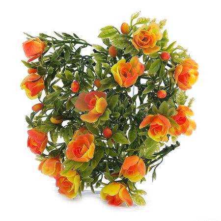 Művirág rózsa narancssárga