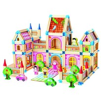 Joc modular din lemn Mertens Castel mare, 268  piese