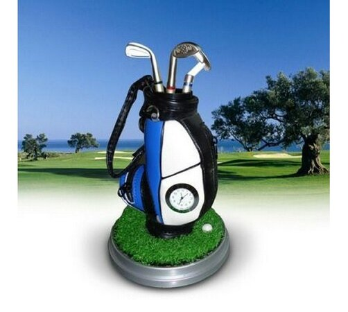 Sada golfových pier s hodinami