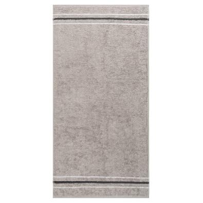 Cawö Frottier ručník Silver, 50 x 100 cm