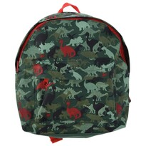 Koopman Dětský batoh Dinosauři zelená, 21 x 27 x 8,5 cm