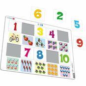 Puzzle Larsen, Numărătoare pentru cei mai mici 10 piese
