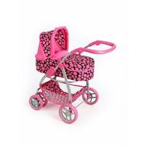 PlayTo Multifunkčný kočík pre bábiky Jasmínka, ružová