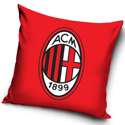 AC Milán Red kispárna, 40 x 40 cm