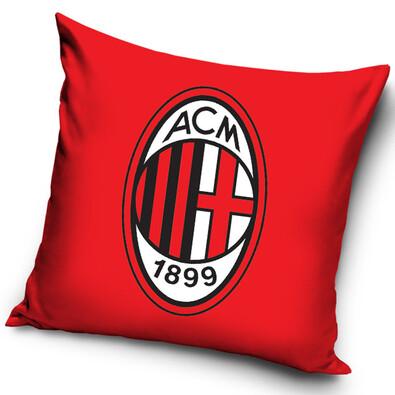 Vankúšik  AC Miláno Red, 40 x 40 cm