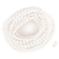 Șnur cu bile pentru roletă Light 300 cm alb (inclusiv capsă)