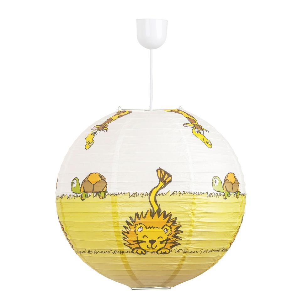 Rabalux 4633 Leon detské stropné svietidlo, žltá