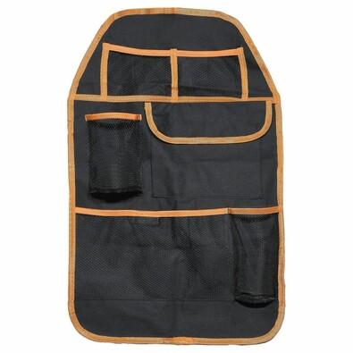 Organizér na přední sedadlo Orange, 37,5 x 58,5 cm