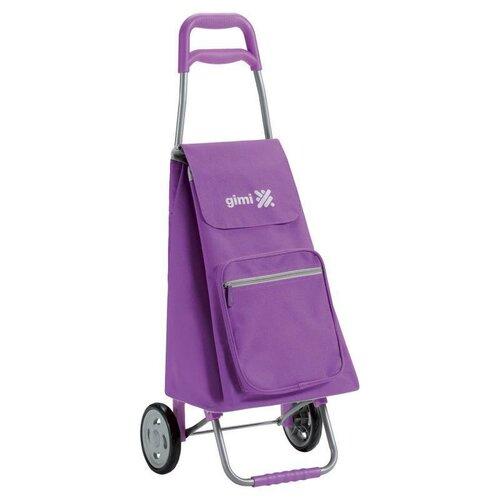 Gimi Nákupná taška na kolieskach Argo fialová, 45 l