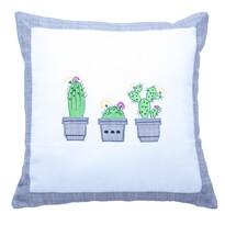 Obliečka na vankúšik Kaktus, 40 x 40 cm