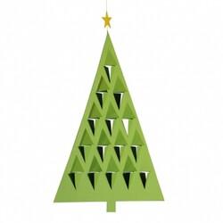 Kinet Prism Tree 28 cm, zelený