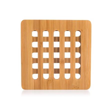 Banquet Podložka drevená BRILLANTE Bamboo 16 x 16 x 1 cm