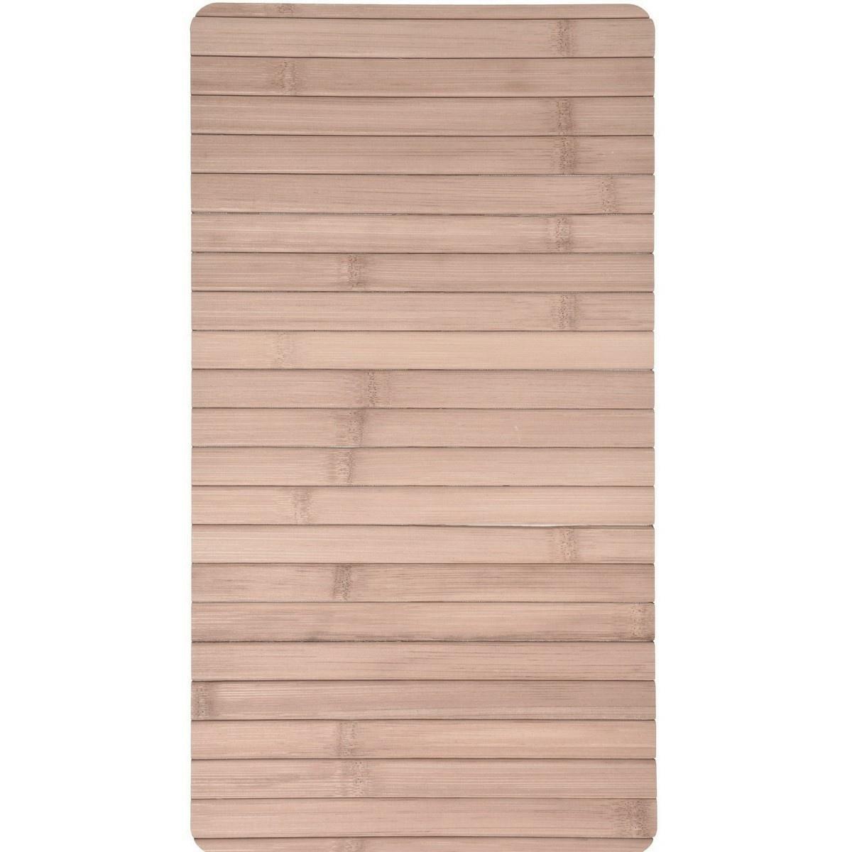 Bambusová servírovacia podložka 44 x 24 cm, svetlohnedá
