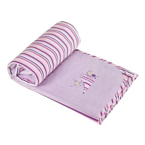 Bára gyerek takaró rózsaszínű, 75 x 100 cm