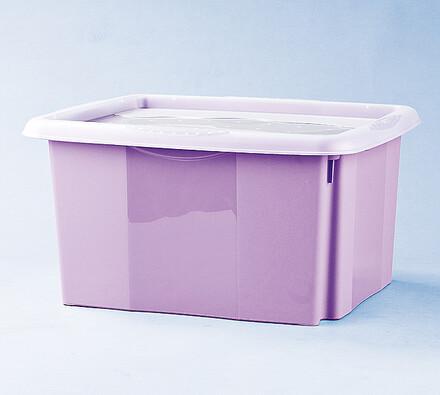 Box úložný Stack&go, 24 l, 42,5 x 35,5 x 22,5 cm