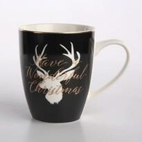Altom Porcelánový hrnček Nordic Winter Deer, 340 ml