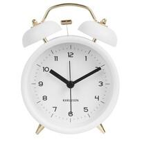 Karlsson 5659WH Ceas alarmă cu design