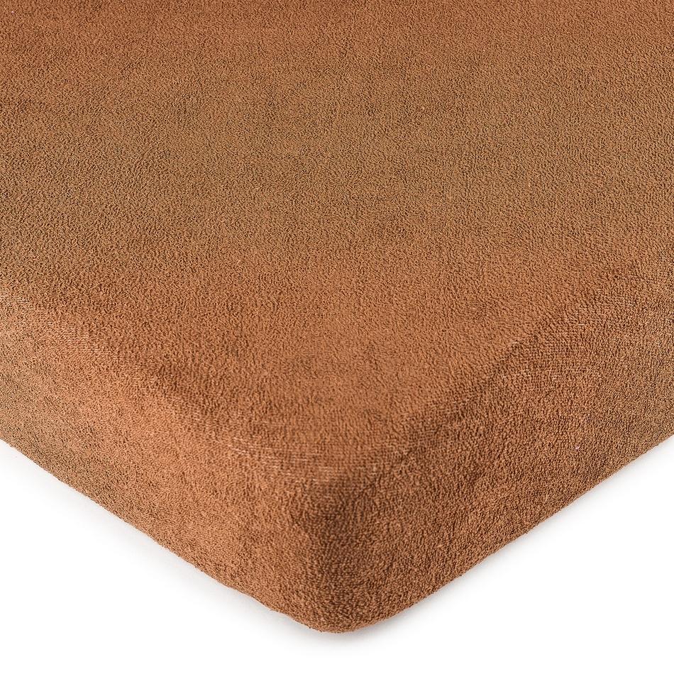 4Home frottír lepedő barna, 140 x 200 cm