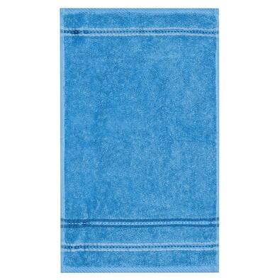 Ručník Nicola modrá, 30 x 50 cm