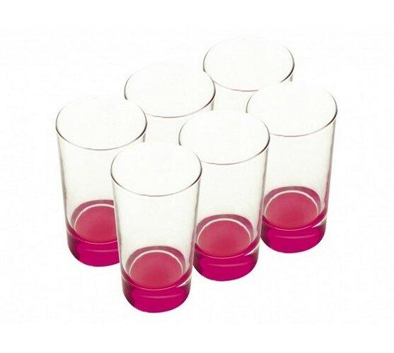 Poháre sada 6 ks ružové, 460 ml,  Maxwell & Williams