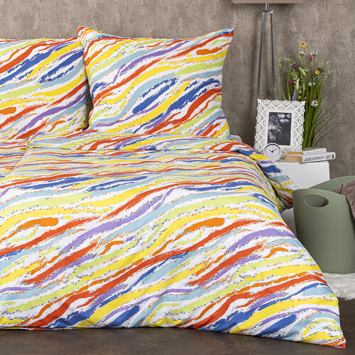 4Home Povlečení Rainbow micro, 220 x 200 cm, 2 ks 70 x 90 cm