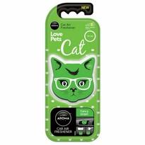 Osviežovač Aroma Car Cat, fancy green