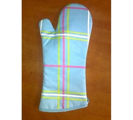 Grilovací rukavice, modrá