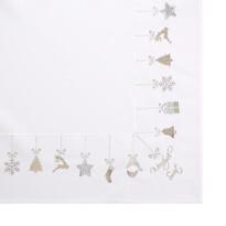 Vianočný obrus Merry Christmas, 80 x 80 cm