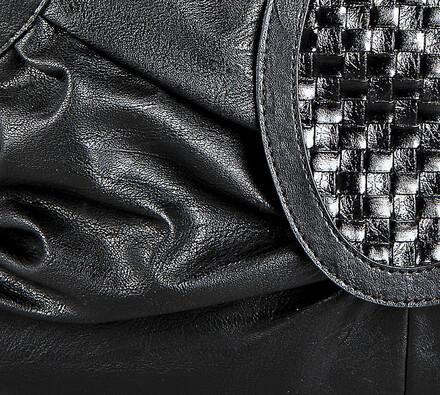 Elegantní dámská kabelka, černá