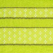 Osuška Vanesa světle zelená, 70 x 140 cm
