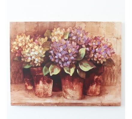Obraz květiny, vícebarevná, 60 x 80 cm