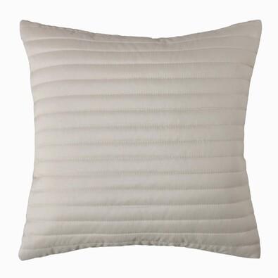 Povlak na polštářek Mondo světle šedá, 40 x 40 cm, sada 2 ks