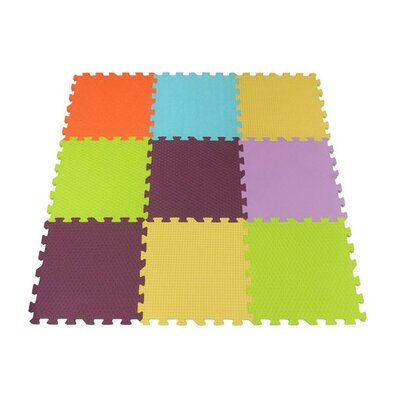 Baby Great Penové puzzle Štruktúra SX (30x30), 6 farieb