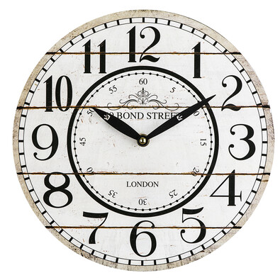 Nástěnné hodiny Bond Street