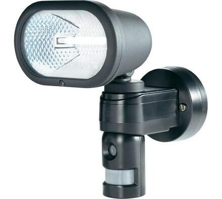 Kamera s reflektor a PIR senzorem, Conrad, černá