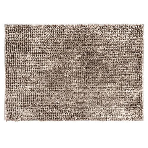 Kúpeľňová predložka Ella micro sivá, 50 x 80 cm