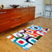 Kusový koberec Crazy 2220 Multi, 80 x 300 cm