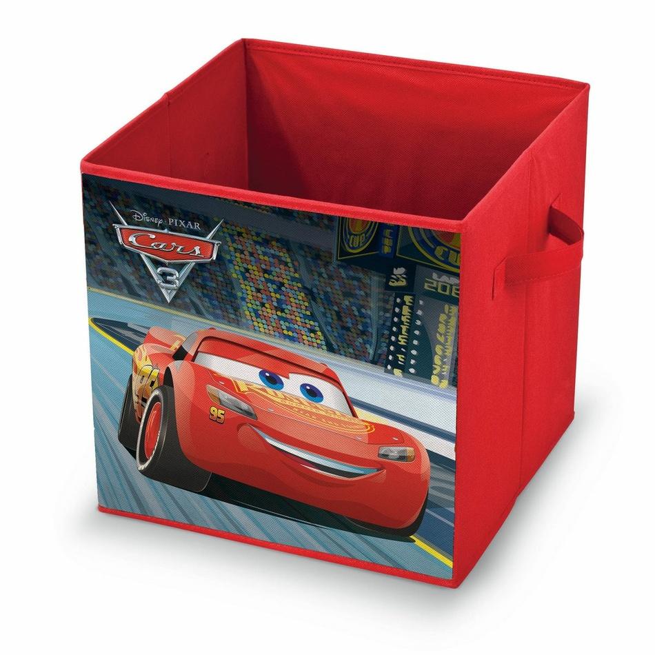 Domopak Living Úložný box s motivem Disney Cars, 32 x 32 x 32 cm