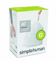Simplehuman Vrecia do odpadkového koša G 30 l, 60 ks