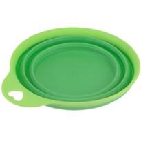 Skladacia silikónová miska Colours, zelená