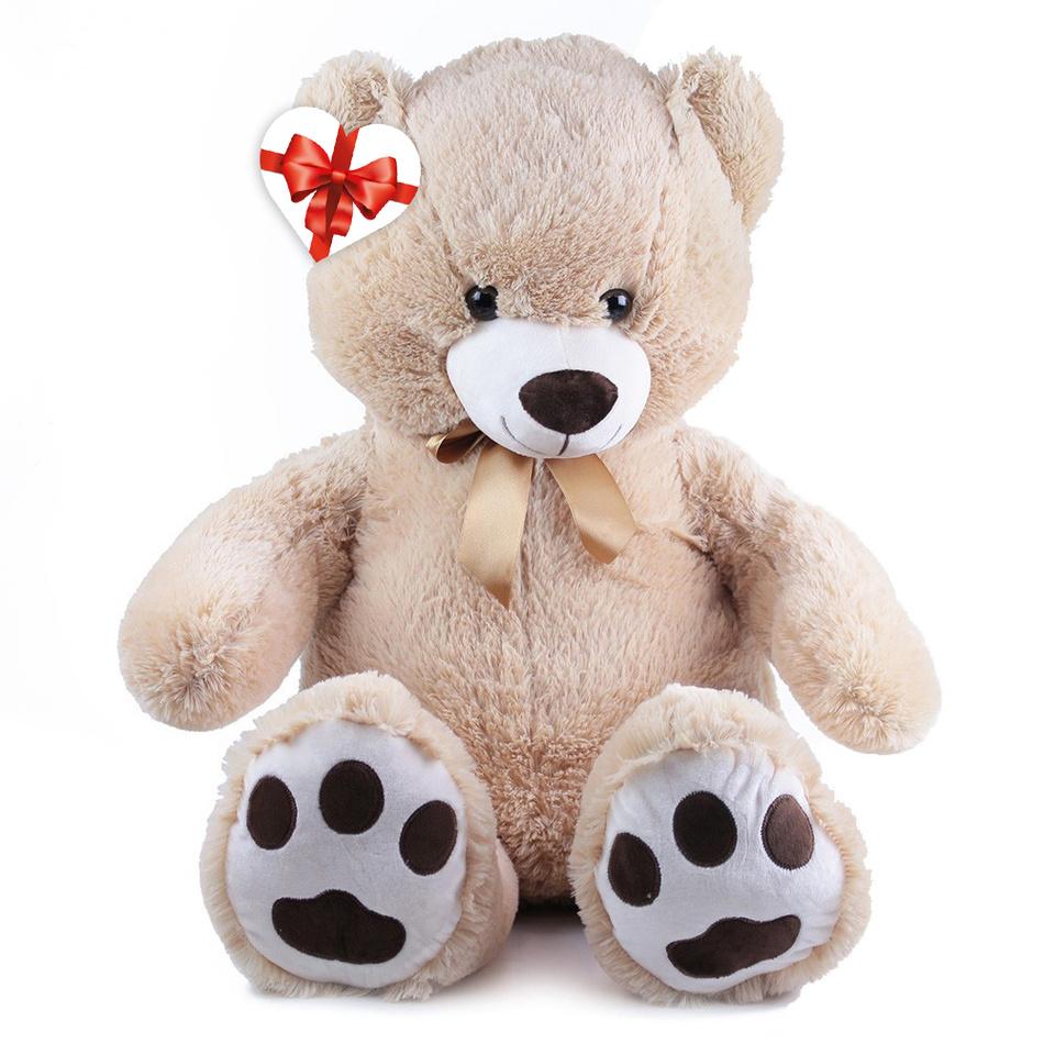 Rappa Veľký plyšový medveď Fido s visačkou, 100 cm