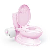 Dolu gyermek WC, rózsaszín