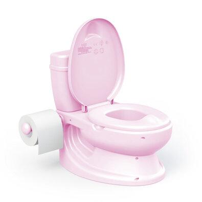 Dolu toaleta dziecięca, różowy
