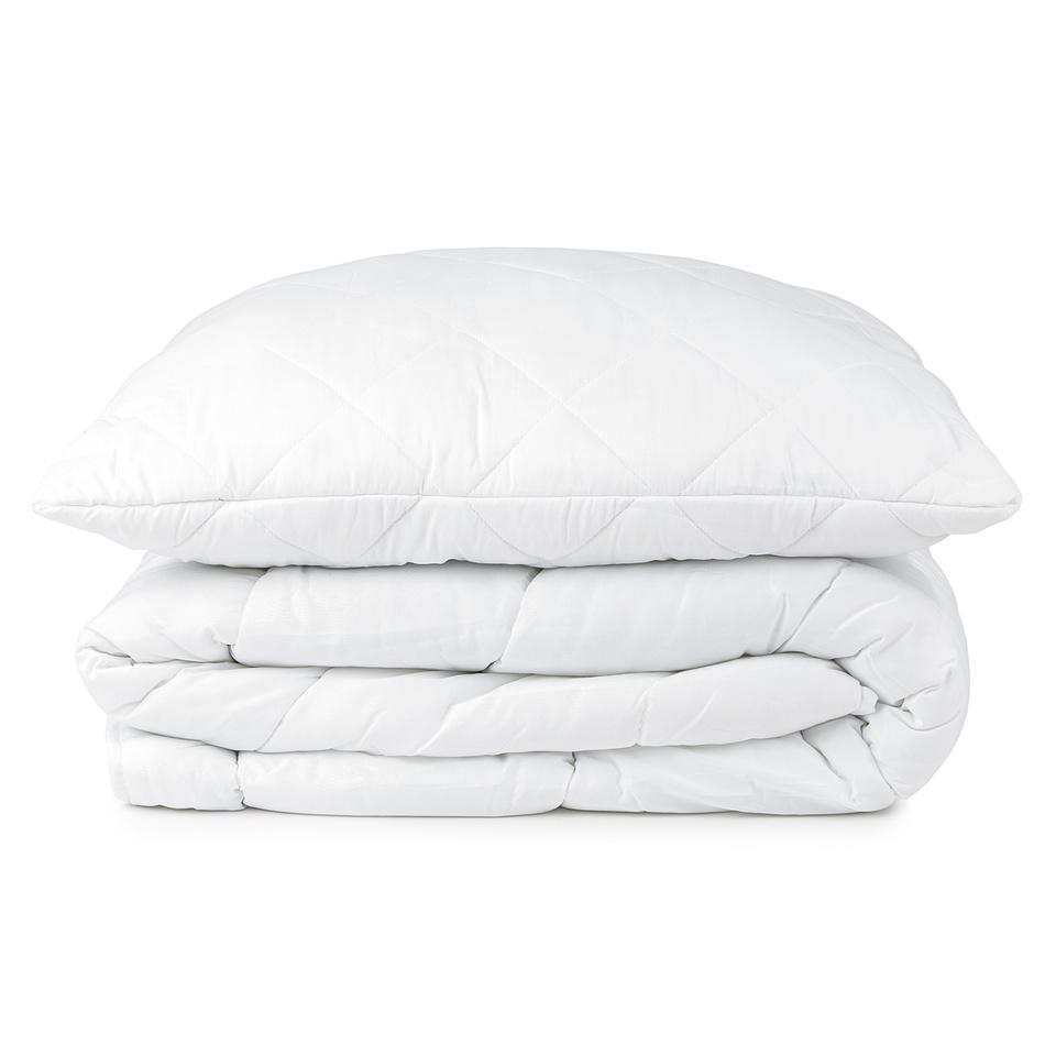 JAHU Komplet kołdry i poduszki całoroczny, 140 x 200 cm, 70 x 90 cm