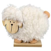 Drevená veľkonočná ovečka Becky, 15 x 13 cm